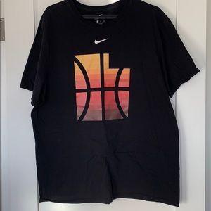 Men's Nike Utah Jazz red rock colors t-shirt